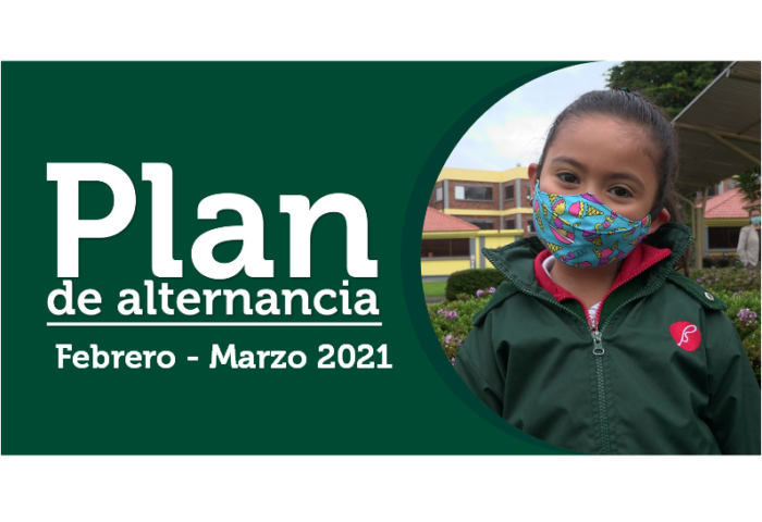 Plan de alternancia febrero- marzo 2021