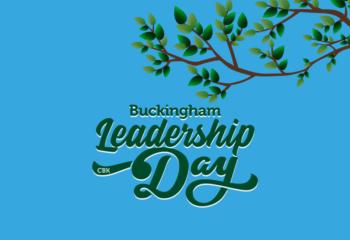 LeaderShipDay 2020 Buckingham School